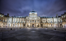 Louvre Museum Night