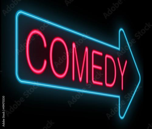 Fotografie, Obraz  Comedy concept.
