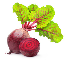 Isolated Beetroot. One Fresh R...