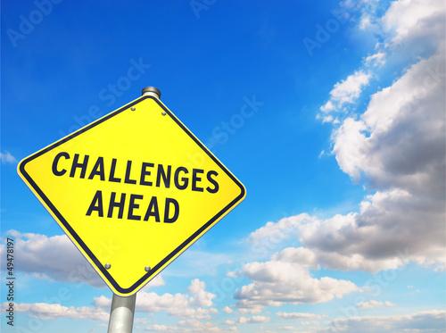 Fotografie, Obraz  CHALLENGES AHEAD