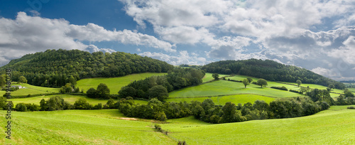 Fotografia Panorama of welsh countryside