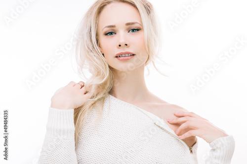 Fototapeten womenART Sensual blond