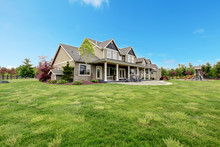Large Farm Country House With ...