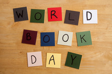 'WORLD BOOK DAY' Sign Or Poste...