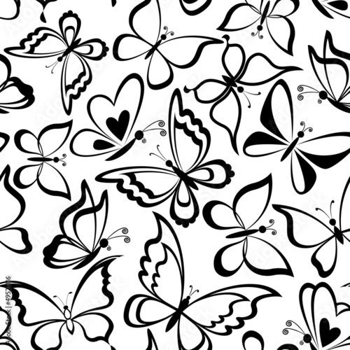 bezszwowe-tlo-sylwetki-motyli