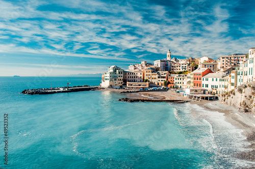 Canvas Prints Liguria View of Bogliasco