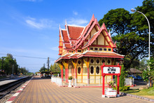 Royal Pavilion At Hua Hin Railway Station, Prachuap Khiri Khan,