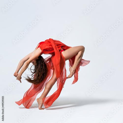 Küchenrückwand aus Glas mit Foto Tanzschule the dancer