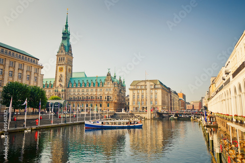 Fotomural Hamburg