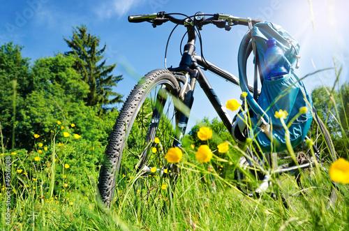 Fahrrad Ausflug Erholung Sommer – Bike in Nature Landscape