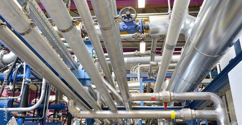 Pipeline Rohrleitungen de Tableau sur Toile