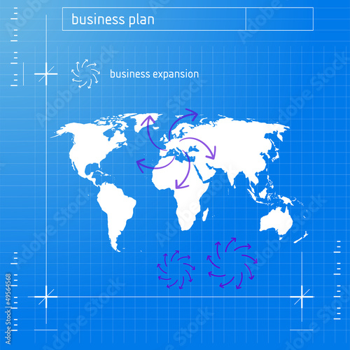 Garden Poster Retro sign Business Expansion Plan (version 1)