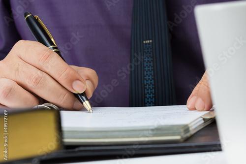 Photo Writing note