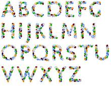 Alphabet Of Gems