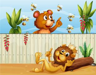 Lav, medvjed i pčele