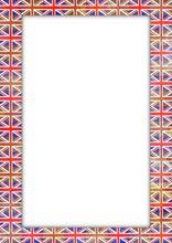 UK Flag Border