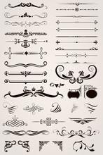 Elements Decorative Ornaments