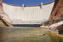 Hoover Dam On The Nevada-Arizona Border