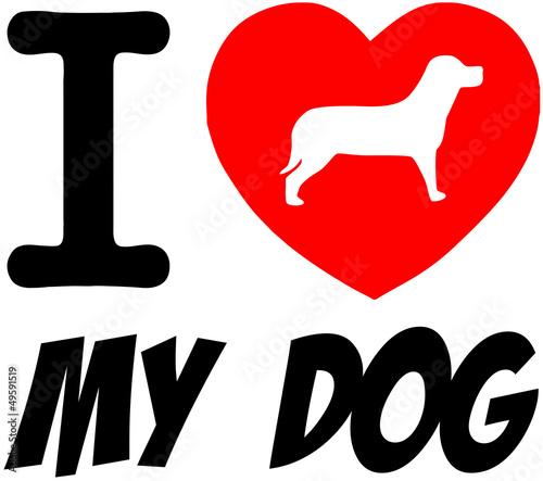 kocham-mojego-psa-z-czerwonym-sercem-i-tekstem