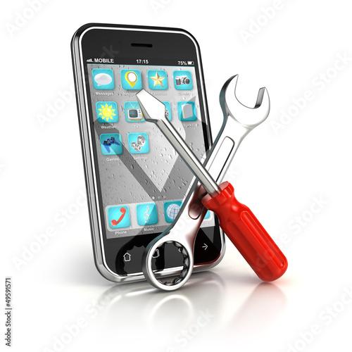 Fotografía  Smartphone repair