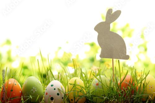 Easter Decoration Poster