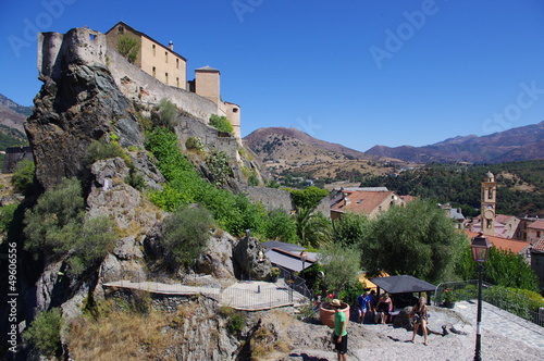 Fotografie, Obraz  Corte et sa citadelle