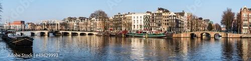 Poster Bridges Amsterdam
