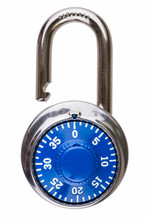 Open Combination Lock With Blu...