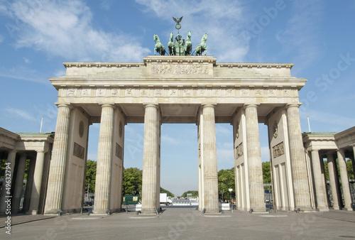 Spoed Fotobehang Berlijn Brandenburger Tor, Berlin