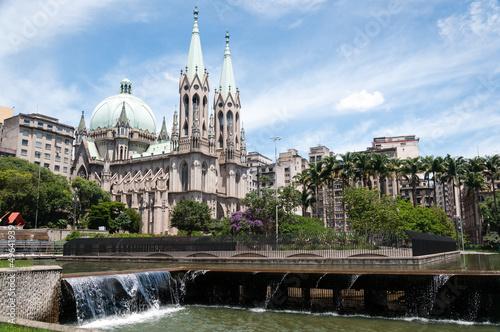 Poster Brésil Se Cathedral