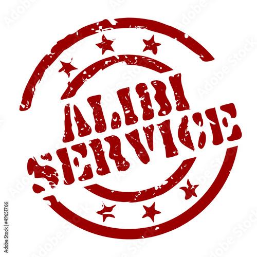 Photo stempel alibi-service I