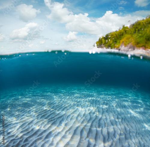 Spoed Foto op Canvas Eiland Sea