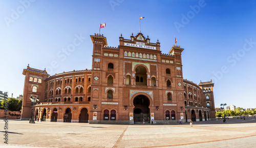 Bullring of Las Ventas in Madrid, Spain
