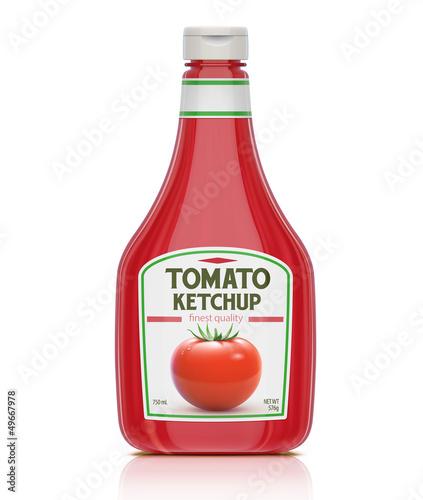 Cuadros en Lienzo  Ketchup bottle
