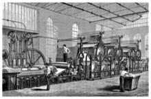 Paper Machine - 19th Century