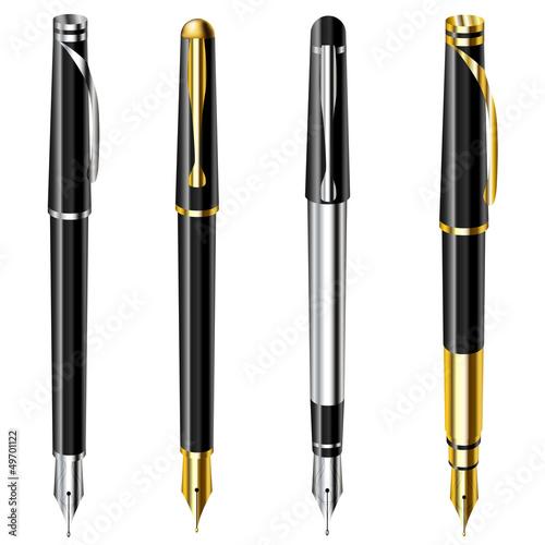 Fotografía  Fountain pen set