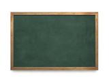 Blank old blackboard - 49706322