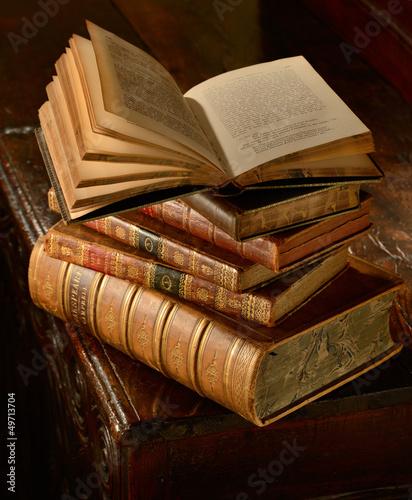 vintage-book-stack