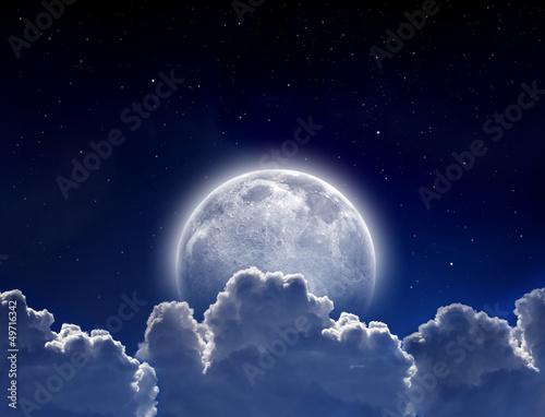 Fotobehang Volle maan Full moon