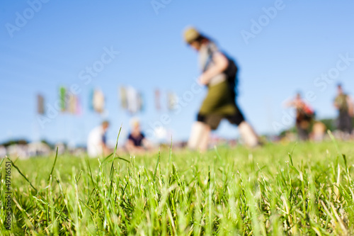Music Festival Field - 49716551