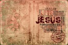 Jesus He Is Risen Religious Background