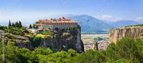 Fotografia Meteora monastery in Greece