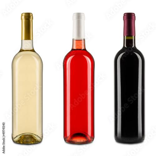 Fotografía  Botellas de vino