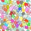 Seamless handprints