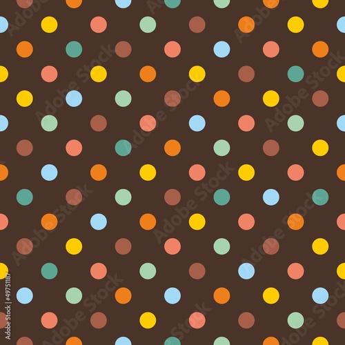 wzor-w-kolorowe-kropki-ciemne-tlo