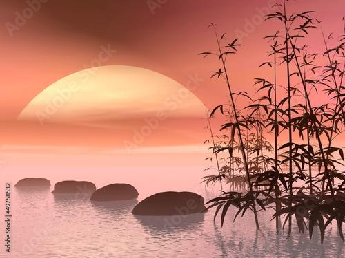 azjatyckie-kroki-do-slonca-renderowania-3d