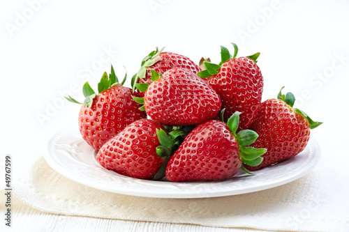 fresh strawberries Canvas-taulu