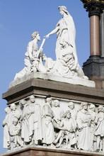 Cultural Figures At Alberts Memorial In London