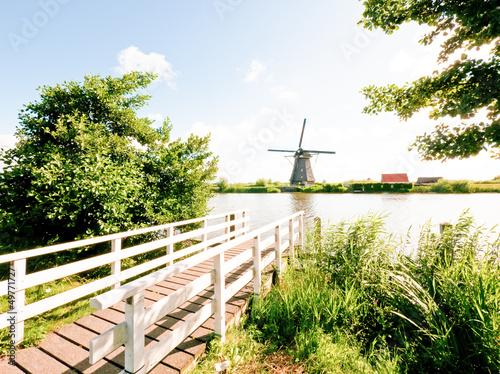 Fotobehang Molens old windmill