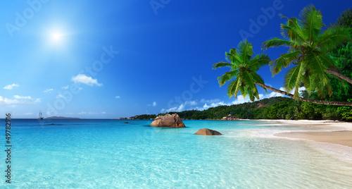 Fotografie, Obraz  Anse Lazio beach at Praslin island, Seychelles